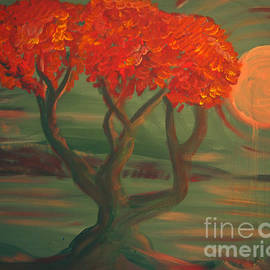 G Whiteford - Pink Moon Tree