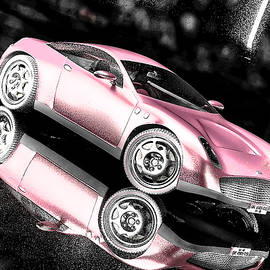Maurice Gold - Pink Muscle Car
