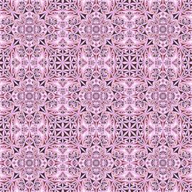 David Zydd - Pink ornament wallpaper