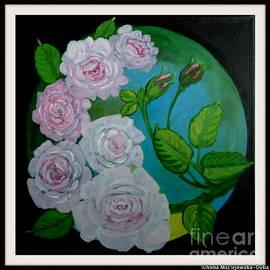 Anna Folkartanna Maciejewska-Dyba - Pink Roses
