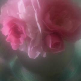 Jill Greenaway - Pink Roses in Vase