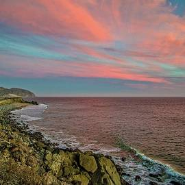 Lynn Bauer - Pink Skies Along Pacific Coast Highway