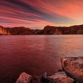 Saija Lehtonen - Pink Sunrise on the Lake