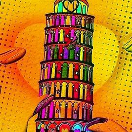 Nico Bielow - Pisa Popart by Nico Bielow