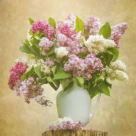 Patti Deters - Pitcher of Lilacs