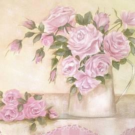 Chris Hobel - Pitcher of  Pink Roses