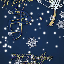 PITT PANTHERS CHRISTMAS CARDS - Joe Hamilton