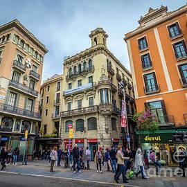 Liesl Walsh - Placa Boqueria at La Ramblas, Barcelona, Spain