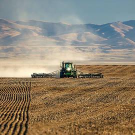 Todd Klassy - Planting Orangic Wheat