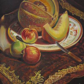 Farideh Haghshenas - Plate of Fruit