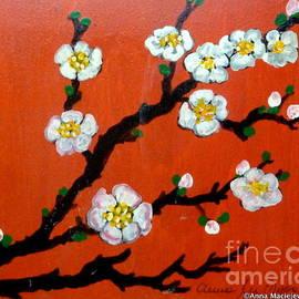Anna Folkartanna Maciejewska-Dyba - Plum Blossom