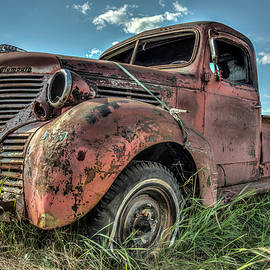 Constance Puttkemery - Plymouth Pickup Lost In A Field Of Dreams