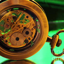 Douglas Milligan - Pocket Watch - Green