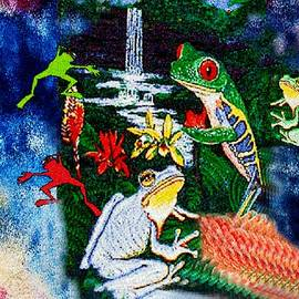 Jacquie King - Pointillistic Froglings