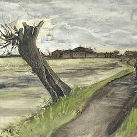 Pollard Willow, 1882 - Vincent Van Gogh