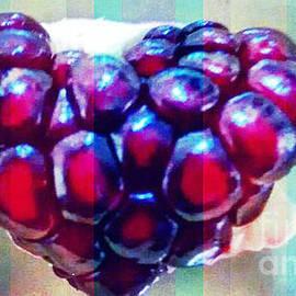 Genevieve Esson - Pomegranate Heart In Stripes