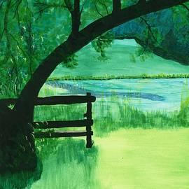 David Bartsch - Pond Bench