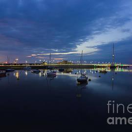 Ian Mitchell - Pont y Ddraig Bridge and Harbour