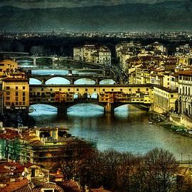 Brian Tarr - Ponte Vecchio at dusk