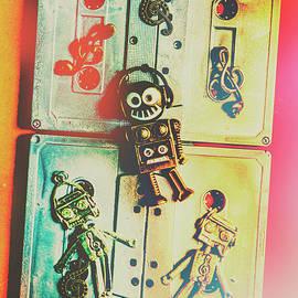 Pop art music robot - Jorgo Photography - Wall Art Gallery