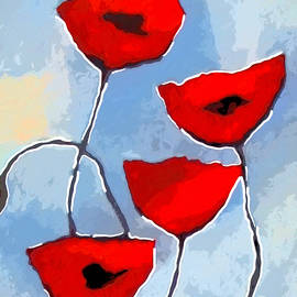 Artwork Studio - Poppies Decor