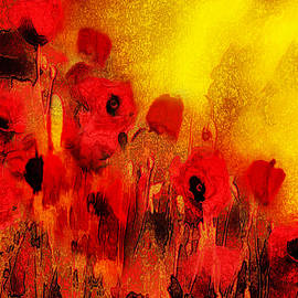 Valerie Anne Kelly - Poppy reverie