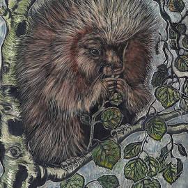 Dawn Senior-Trask - Porcupine in Aspen