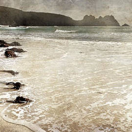 Linsey Williams - Porthcurno with Textures