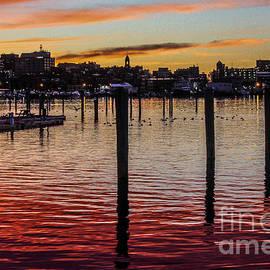 JoeFarPhotos - Photographer in Maine - Portland Harbor Sunset