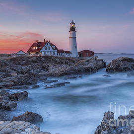 Tony Baldasaro - Portland Head Light at Sunset