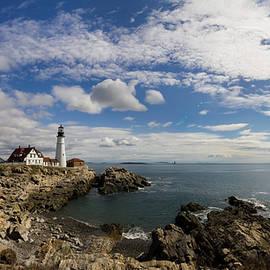 Kirkodd Photography Of New England - Portland Head Light Seascape