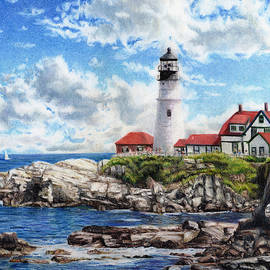 Shana Rowe Jackson - Portland Head Light