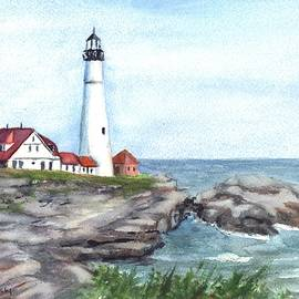 Carol Wisniewski - Portland Head Lighthouse Maine USA