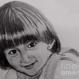 Aarti Bartake - Portrait of my Daughter