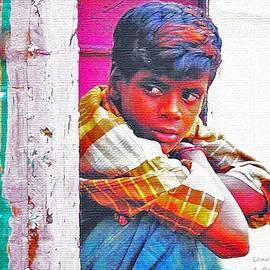 Lenore Senior and Bobby Dar - Portrait of a Boy