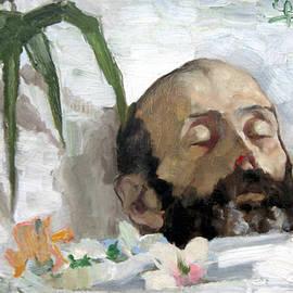 Portrait of a Dead Man - Giovanni Segantini
