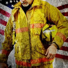 Toni Hopper - Portrait of a Firefighter