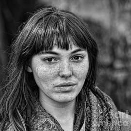 Jim Fitzpatrick - Portrait of a  Freckle Faced Model II