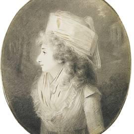 Henri Pierre - PORTRAIT OF AN ELEGANT LADY IN PROFILE, WEARING A HAT