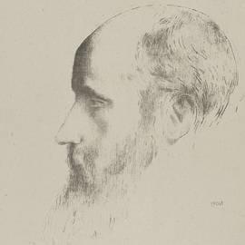 Portrait of Edouard Vuillard - Odilon Redon