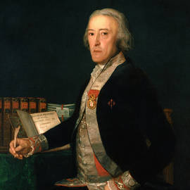 Portrait of Felix Colon de Larriategui  - Francisco Goya
