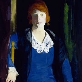 Portrait of Florence Pierce - George Bellows