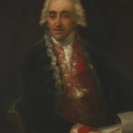 Portrait of Juan de Villanueva - Francisco Goya
