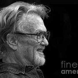 Jim Fitzpatrick - Portrait of Kris Kristofferson