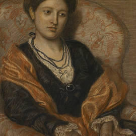 Portrait of Miss Iza Duffus Hardy - Ford Madox Brown