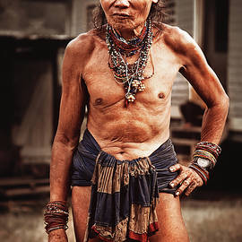 Elena Riim - Portrait of Penan ethnic of Borneo