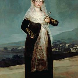 Portrait of the Marquesa de Santiago - Francisco Goya
