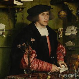 Portrait of the Merchant George Gisze - Hans Holbein