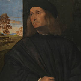 Portrait of the Venetian Painter Giovanni Bellini - Titian