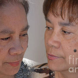 Jim Fitzpatrick - Portraits of a Filipina with a Mole on Her Cheek
